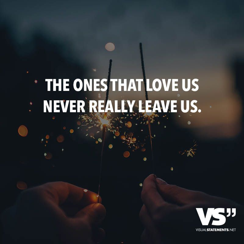 The ones that love us never really leave us | Liebe // VISUAL ...