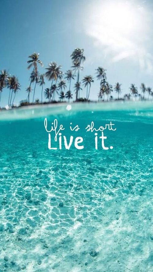Life Is Short, Live It motivational quotes inspirational quotes ...