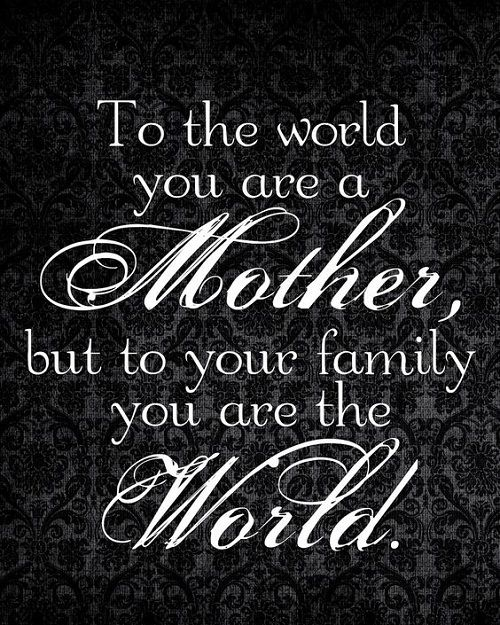 Pin on Mother Quotes