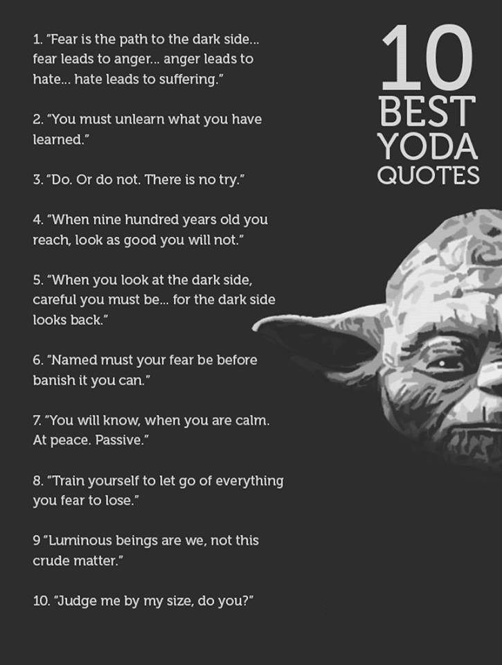 100+ Greatest Yoda Quotes For Massive Growth | BayArt - A New ...