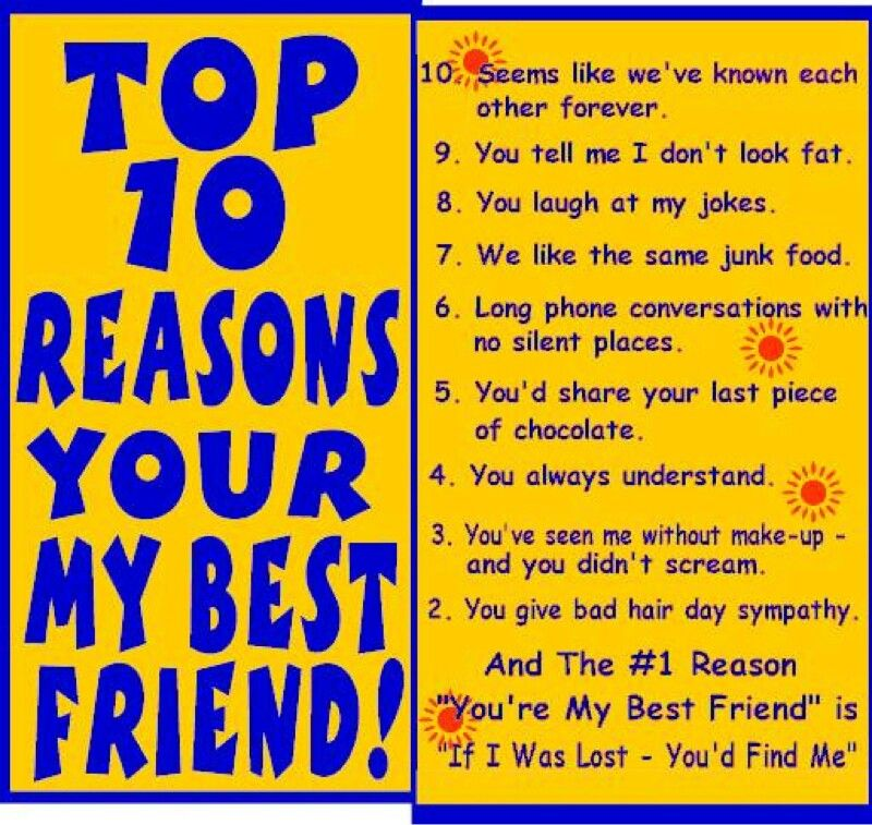 Top 10 reasons you