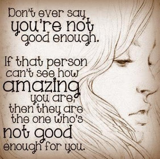You Deserve Better Quotes & Sayings | You Deserve Better Picture ...