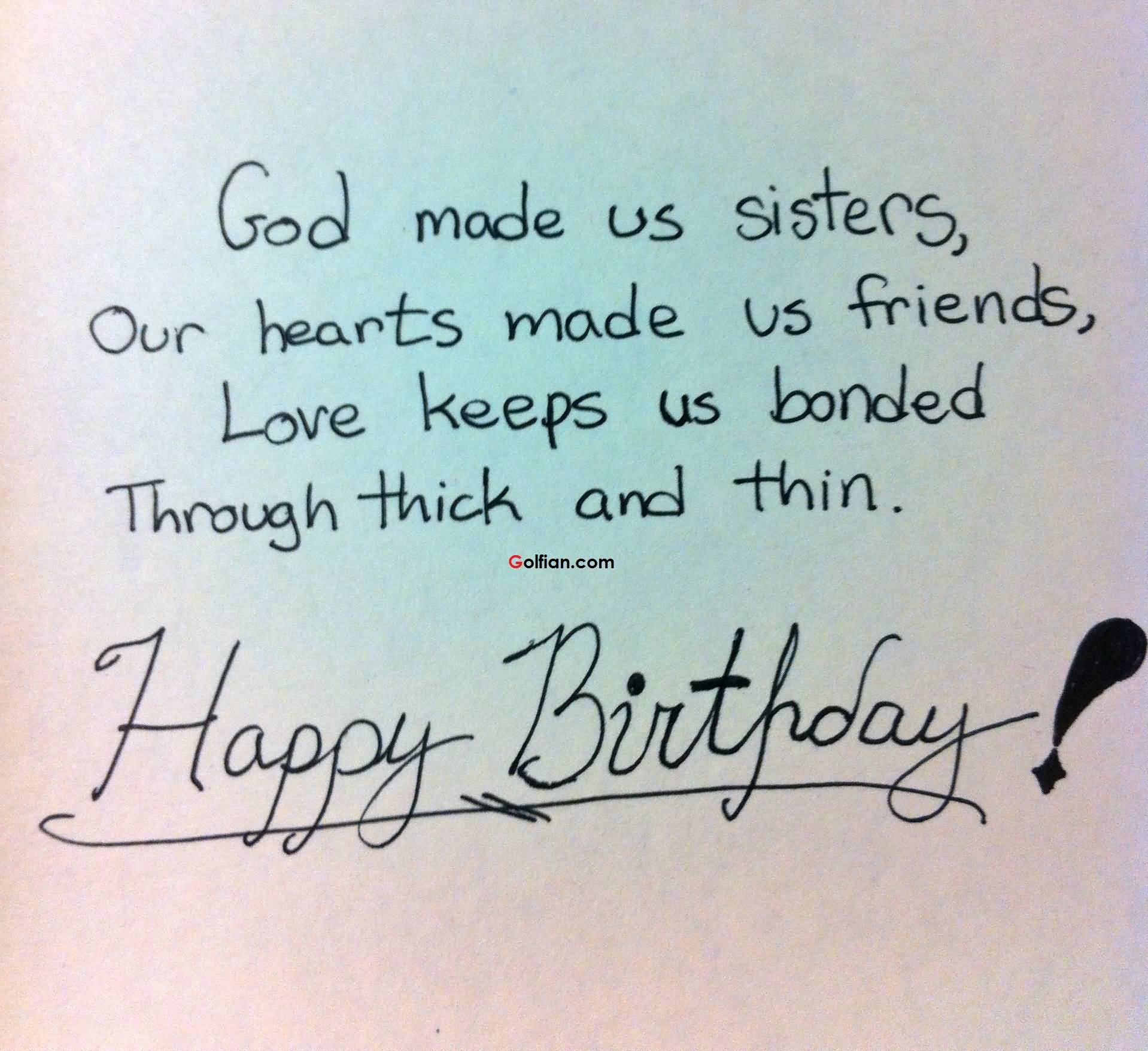 60+ Nice Sister Birthday Quotes – Best Birthday Sayings For Sister ...