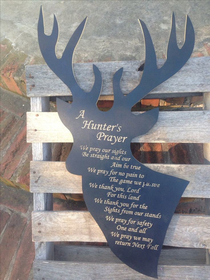 1000+ ideas about Hunter's Prayer on Pinterest | Bow ...