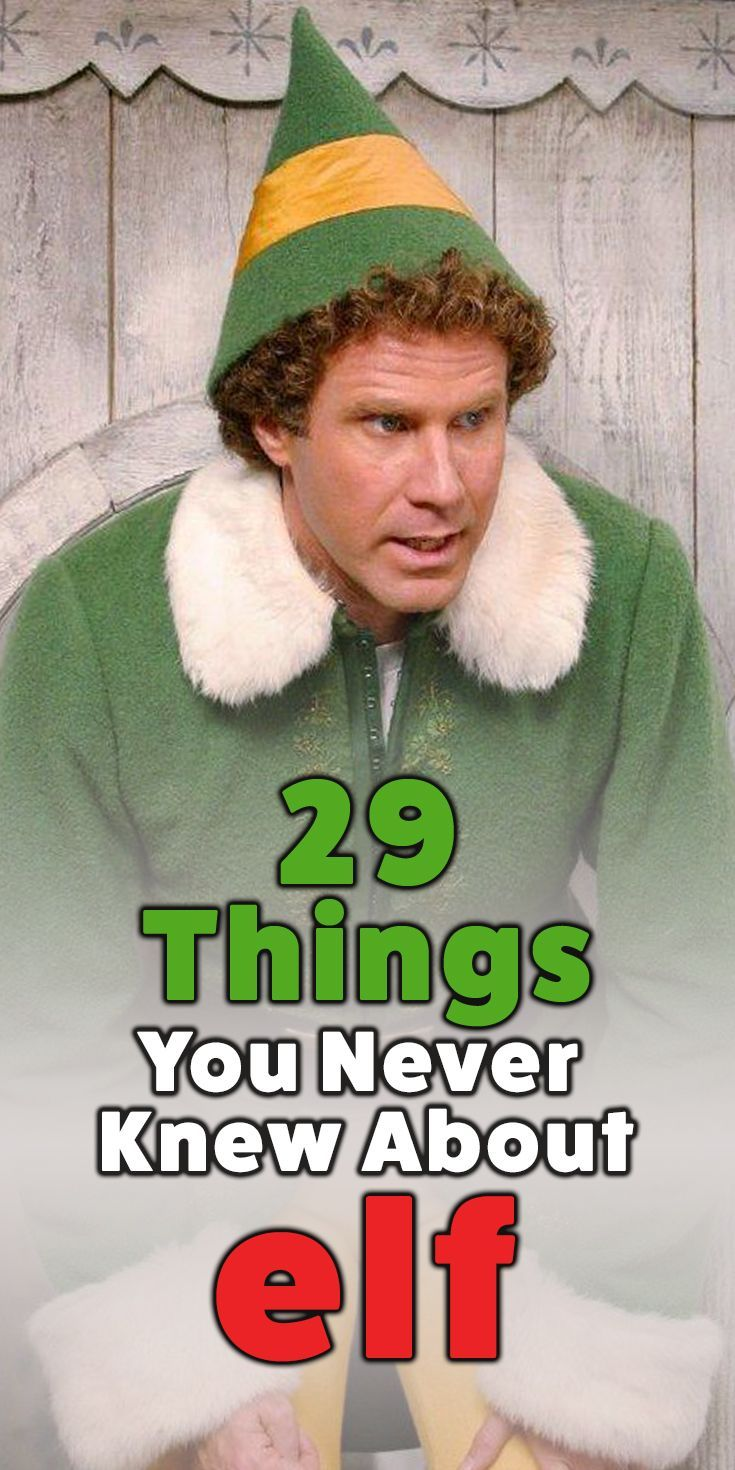 29 Mind-Blowing Things You NEVER Knew About 'Elf' | 22 ...