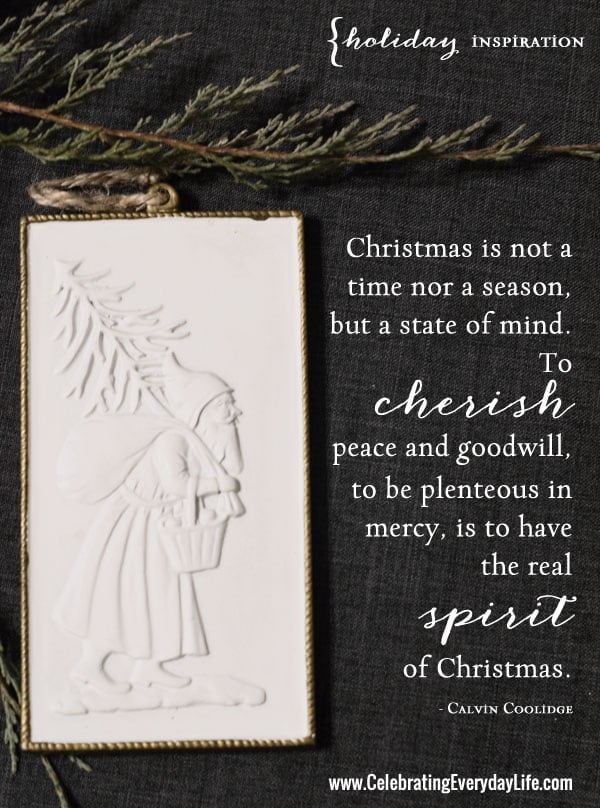 Cherish Peace, An Inspiring Christmas Quote - Celebrating ...