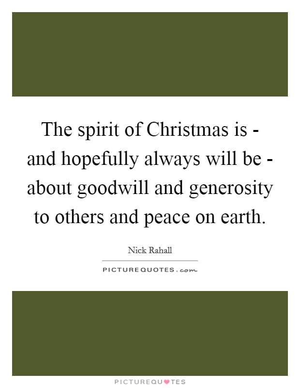 Christmas Peace Quotes & Sayings | Christmas Peace Picture ...