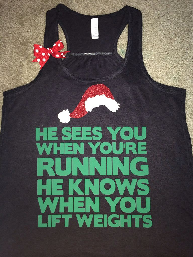 Christmas Tank - Ruffles with Love - Racerback Tank ...