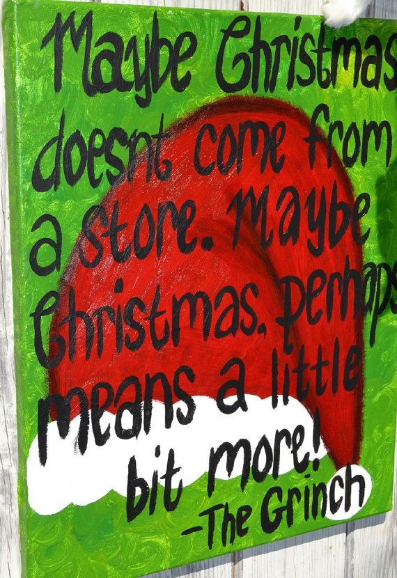 Grinch Christmas Quote #lillychristmas | Christmas ...