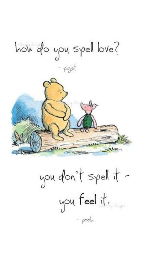 How do you spell love? | Winnie the Pooh - Citaten ...