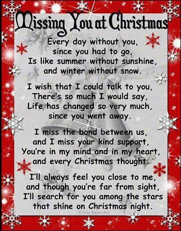 Missing You At Christmas Pictures, Photos, and Images for ...