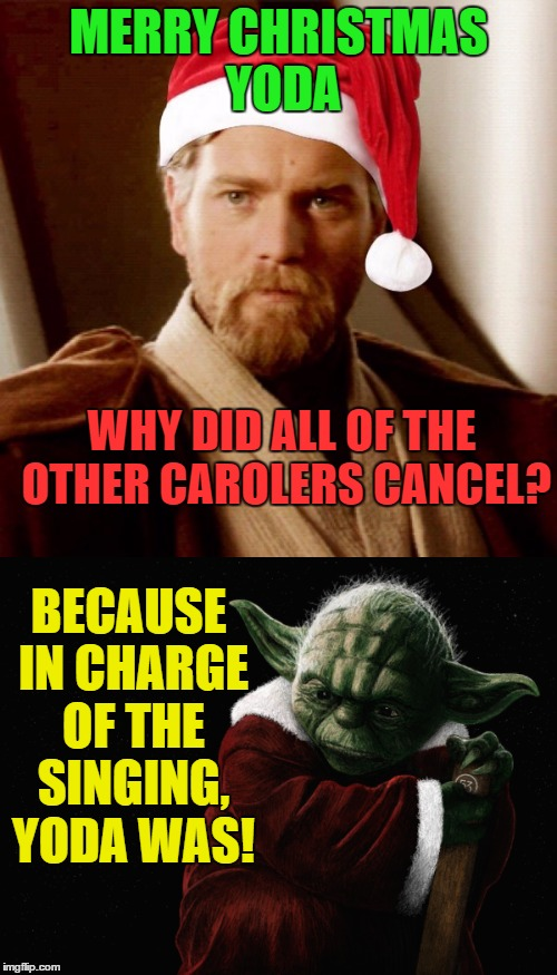 Yoda Christmas Meme – Festival Collections